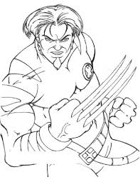 free printable x men coloring pages for kids and