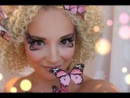 pink erfly makeup tutorial diy erfly head piece miss make over you