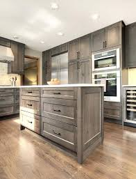 gray wood cabinets kitchen