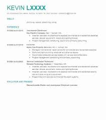 Electrician Resume Sample – Districte15.info