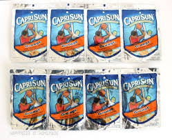 sewing capri sun pouches together