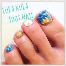 夏フットネイル ネイルサロン Lupa Kulaのネイルカタログ