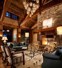 Rustic Living Room Ideas With Fireplace