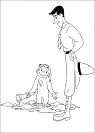 Kids N Coloring Pages Of Curious George Pdf Artigianelliinfo