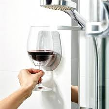 bathtub wine glass holder canada caddy over bath hangers hanging rack