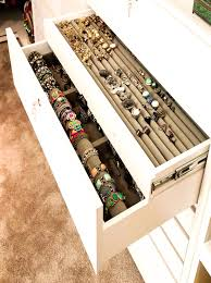 closet with jewelry drawers view full size