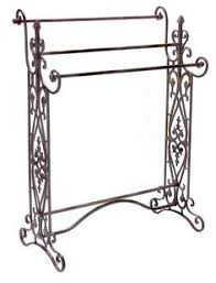 Quilt Hangers and Stands 83959: Colonial Scroll Black Wrought Iron ... & Quilt Hangers and Stands 83959: Colonial Scroll Black Wrought Iron Quilt  Display Rack Towel Blanket Holder 3 Rod -> BUY IT NOW ONLY: $93.48 on eBay! Adamdwight.com