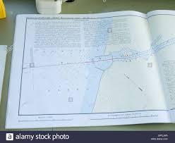 Boat Navigating Map Stock Photos Boat Navigating Map Stock