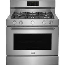 40 dual fuel range. Simple Range Frigidaire Gallery 40 In 64 Cu Ft Single Oven Dual Fuel Range With With