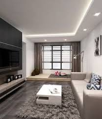 ceiling indirect lighting. The Living Area Features Many Gems, Like Platform That Distinguishes As A Separate Room. Or TV Feature Wall, Which Is Dramatic Possible, Ceiling Indirect Lighting