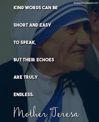 Mother Teresa Quotes Mesmerizing Quote Of The Day Mother Teresa The Teachers Digest