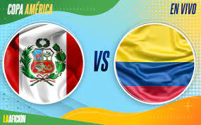 Perú vs Colombia. Tercer lugar de Copa ...