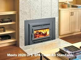 wood burning fireplace inserts s stove insert stoves on custom size electric