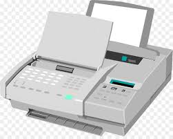 Paper Internet Fax Clip Art Fax Machine Images Png Download 958