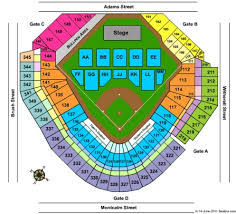 Metallica Comerica Park Seating Chart Comerica Park Tickets In Detroit Michigan Comerica Park