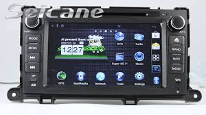 Toyota Sienna Radio Replace to Touch Screen GPS Sat Nav DVD IPod ...