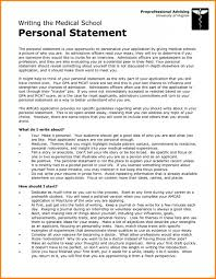 003 Good Example Of Personal Statement For University Help