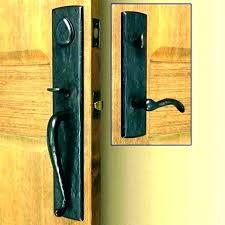 black front entry door handle set handles bunnings exterior door
