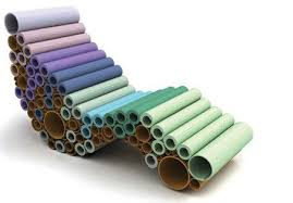 cardboard tube furniture. Cardboard Tube Furniture | 12 Amazing Things Made Out Of Tubes O