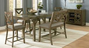 x back dining chairs. Omaha Counter Height Dining Set W/ X-Back Bench (Grey) X Back Chairs H