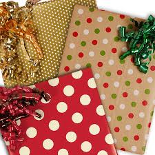 ... Christmas Polka Dot Gift Wrap ...
