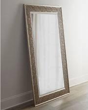 silver floor mirror. Fine Mirror Large Silver Champagne Leaf Wall Floor Mirror XL 70u201d Intended
