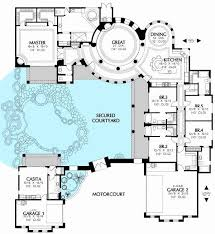 l shaped house plans with courtyard beautiful house plans with courtyard luxury courtyard house plans new