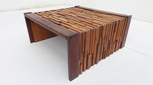 brazilian wood furniture. Brutalist Vintage 1960s Mixed Wood Coffee Table By Brazilian Designer Percival Lafer. The Is Furniture S