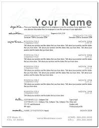 Resume Layout Examples Beauteous Resumes Layout Examples Resume Template Design Format Creerpro