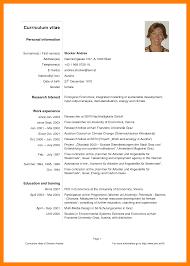 Cv English Example Resume Cv Example Pdf Cv English Example Pdf