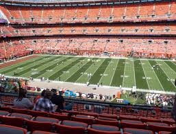 Cleveland Browns Stadium Seating Chart View Firstenergy Stadium Section 310 Seat Views Seatgeek