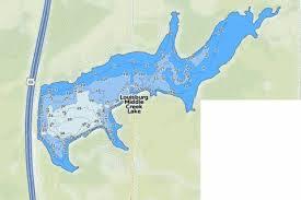 Mozingo Lake Depth Chart Louisburg Middle Creek Lake Fishing Map