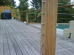 absolutely diy cable railing deck idea stair rail page 2 amp fencing contractor talk system kit indoor interior home depot cost