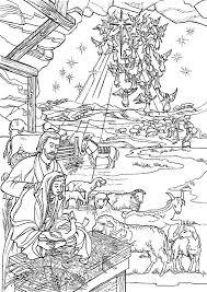 Kleurplaten Kerst Bijbel