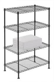 sandusky lee 20 w x 32 h x 12 d 4 shelf wire shelving unit at menards
