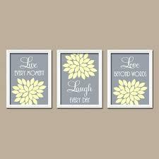 yellow gray wall art yellow gray wall art yellow gray bedroom live laugh love yellow gray yellow gray wall art