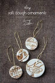 25 Beautiful DIY Christmas Ornaments. Clay OrnamentsSalt Dough ...