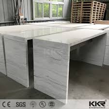 commercial bar counter acrylic solid surface reception desk