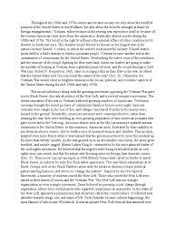 essay on the vietnam war
