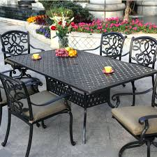 black wrought iron outdoor furniture. Wrought Iron Patio Dining Set Outdoor Tables Black Furniture Sets 5 Piece . A