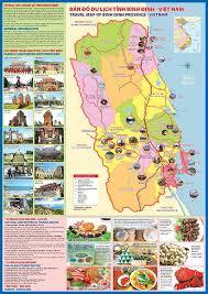 Bản đồ Quy Nhơn - chỉ dẫn đến khu văn hóa ẩm thực nổi tiếng