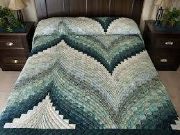Bargello Flame Quilt -- splendid ably made Amish Quilts from ... & Bargello Flame Quilt King Size Photo 1 ... Adamdwight.com