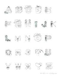 Alphabet Coloring Pages Free Printable Poster Spanish Letters