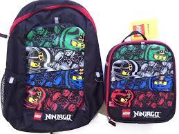 Lego Ninjago 6 piece Backpack and Lunch Box School Set manufacturer Backpacks  Backpacks & Lunch Boxes