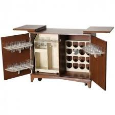 hidden bar furniture. mid century hideaway dry bar liquor cabinet from hidden furniture c