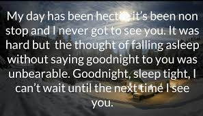 Cute Good Night Quotes Custom Cute Goodnight Love Quotes For Her And Him With Images