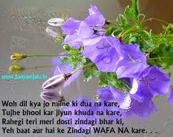 Best Hindi Shayari Pictures Dosti Shayari Hindi Shayari Images For Best Wonderful Quotes Usi Comg Flowers