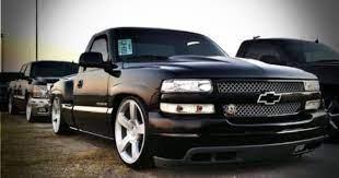 2002 Chevy Silverado Camed Dropped Custom Chevy Trucks Chevrolet Trucks Chevy Trucks