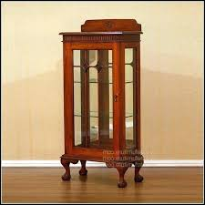 wood curio cabinet with glass doors small curio cabinet curio cabinets with glass doors small wood