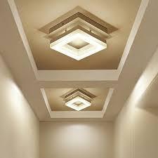modern hallway lighting. LED Modern Minimalist Ceiling Lights Hallway Lights Balcony Corridor  Nordic Creative Square Ceiling Lamp LU62246 Lighting H